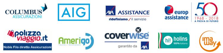 Partner assicurativi viaggi