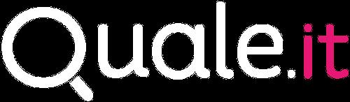 Logo brand quale.it sfondo trasparente